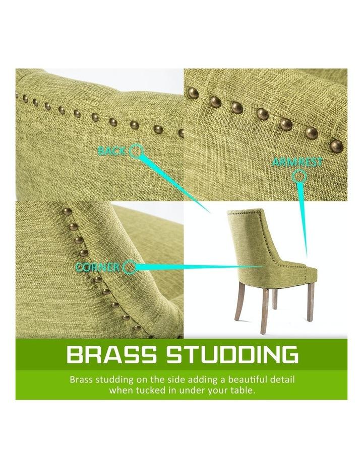 French Provincial Oak Leg Chair image 6