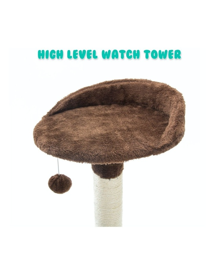 96cm Cat Tree Scratcher Luna - Brown image 7