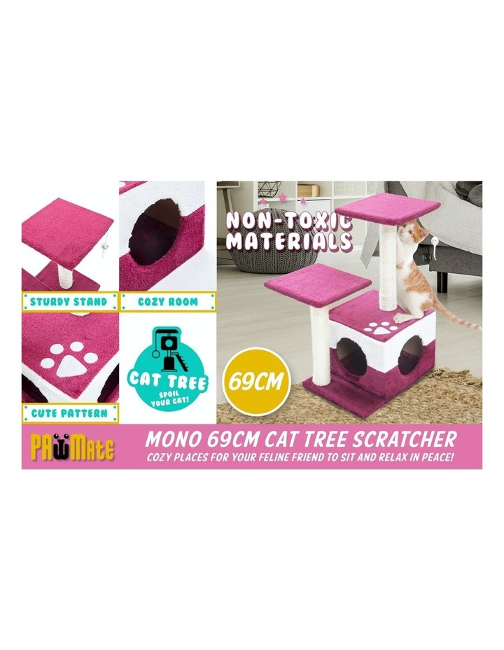 69cm Cat Tree Scratcher MONO - RED image 3