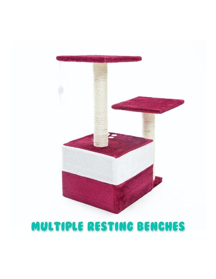 69cm Cat Tree Scratcher MONO - RED image 7