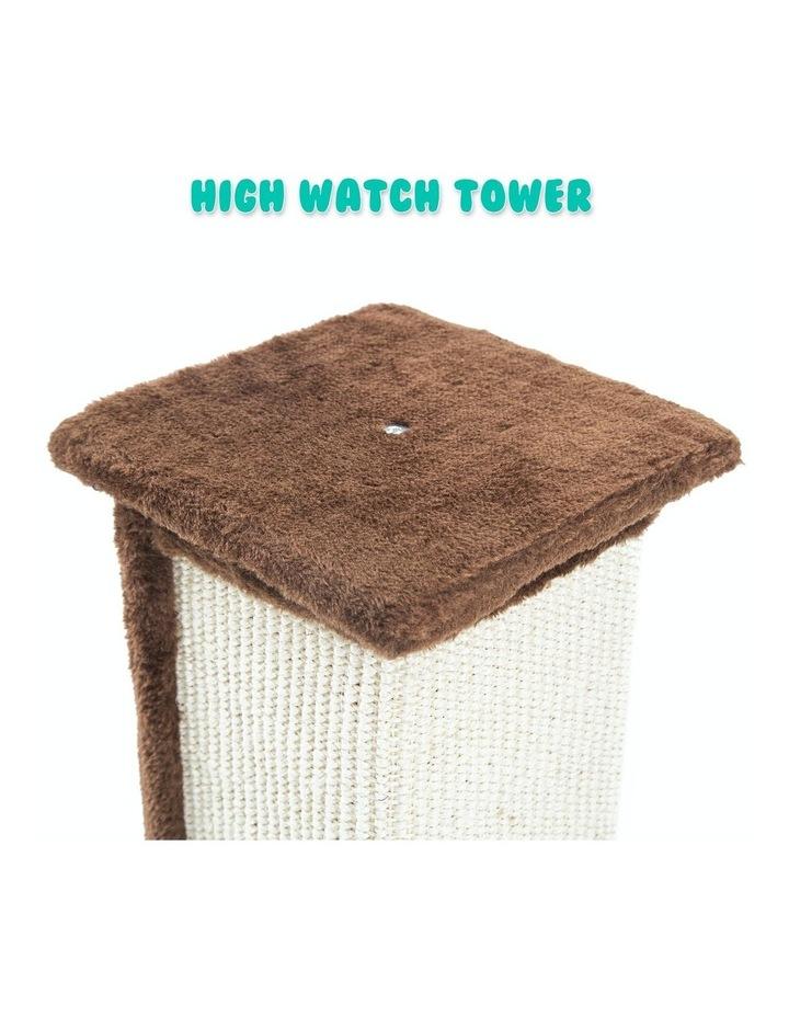 92Cm Cat Tree Scratcher Noppo - Brown image 6