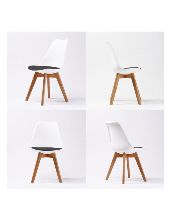 Padded Seat Dining Chair x4 image 4
