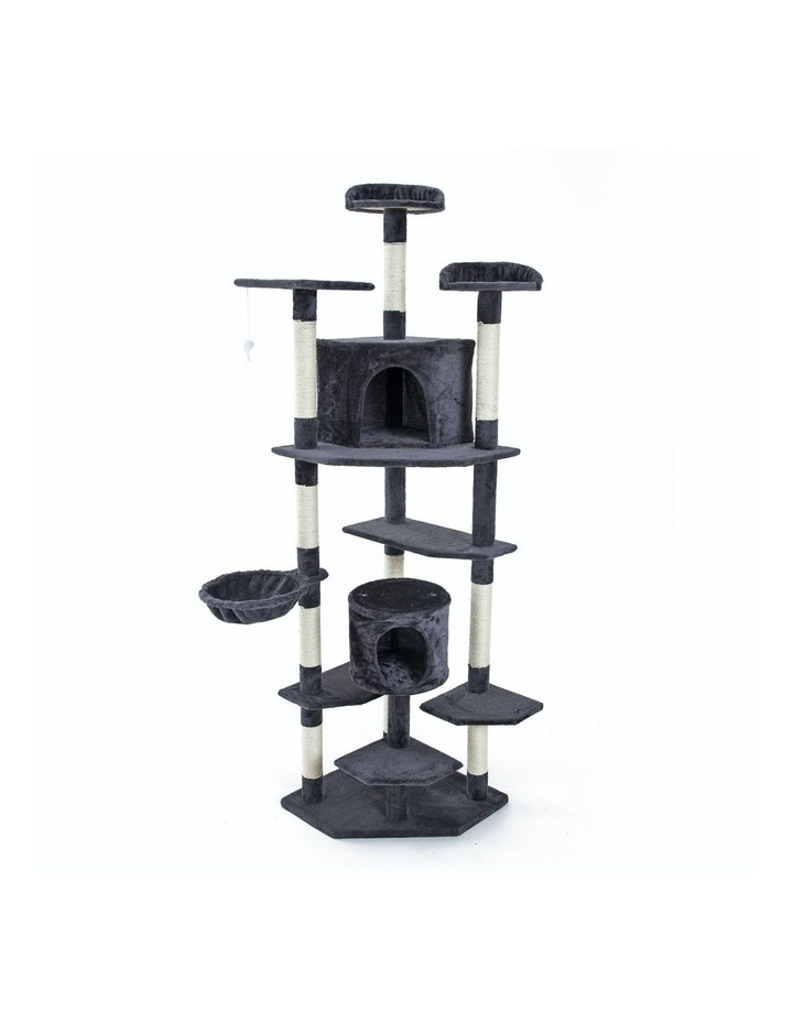 201cm Cat Tree Scratcher Parala - Grey image 1