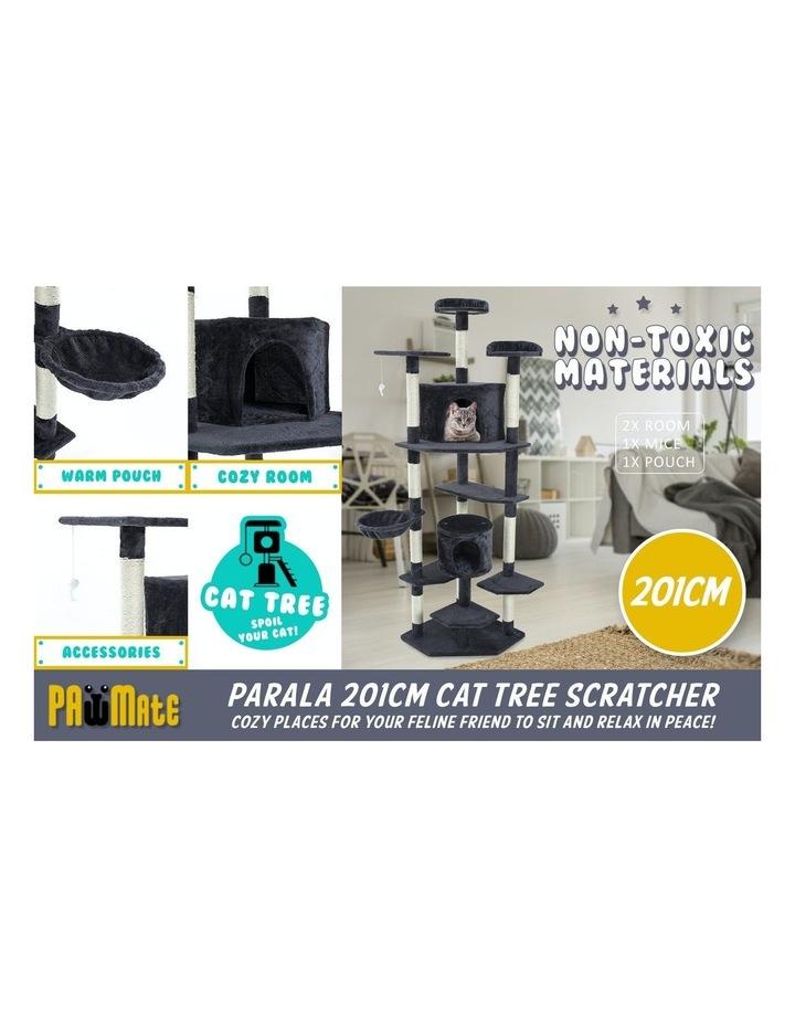201cm Cat Tree Scratcher Parala - Grey image 3