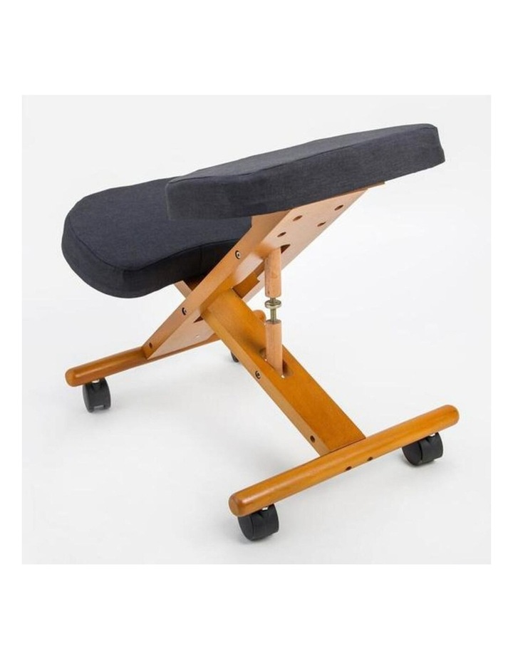 Ergonomic Kneeling Chair - Black image 2