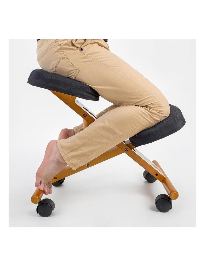 Ergonomic Kneeling Chair - Black image 3