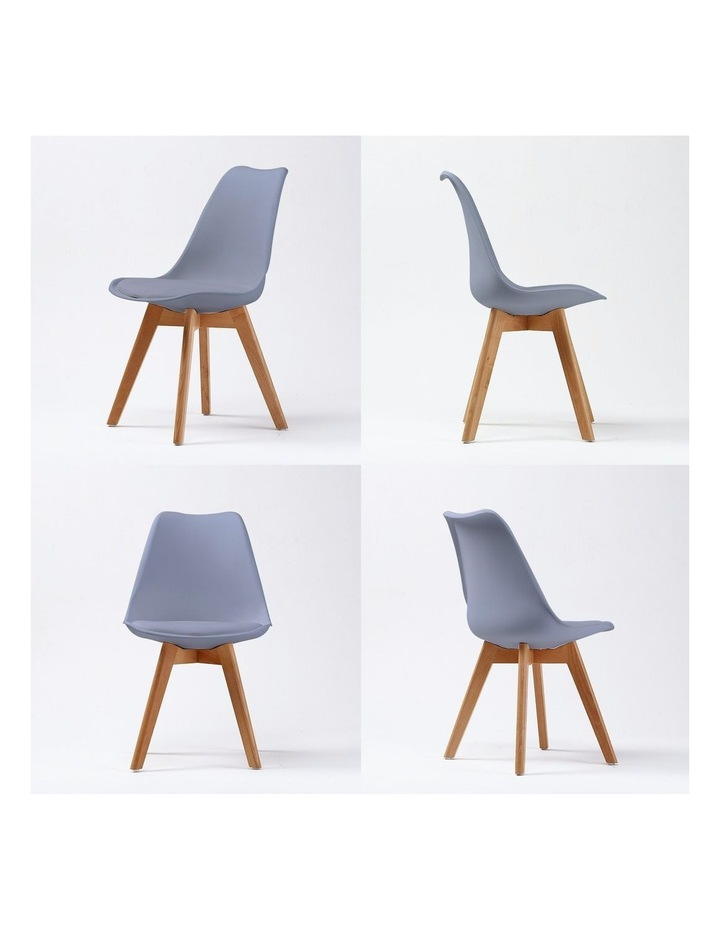 Padded Seat Dining Chair x2 image 4