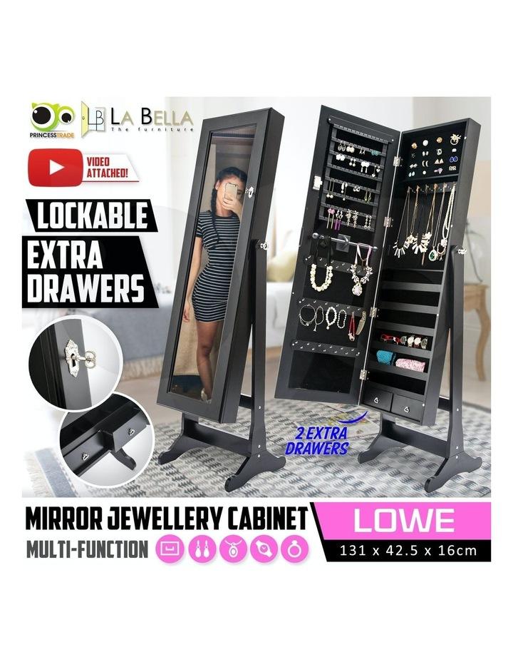 131cm Mirror Jewellery Cabinet image 2