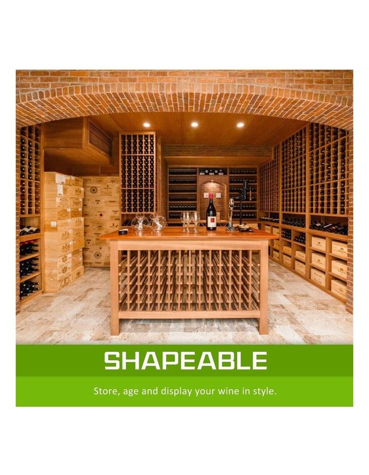 120 Bottle Timber Wine Rack image 3