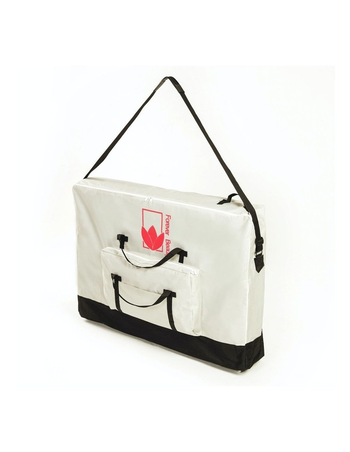 70cm Delux Wheeled Massage Table Carry Bag - White image 2
