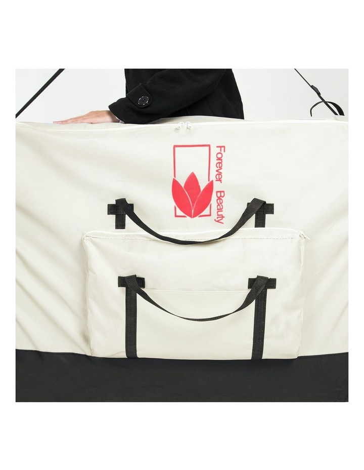70cm Delux Wheeled Massage Table Carry Bag - White image 4