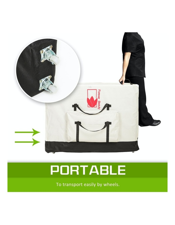 70cm Delux Wheeled Massage Table Carry Bag - White image 5