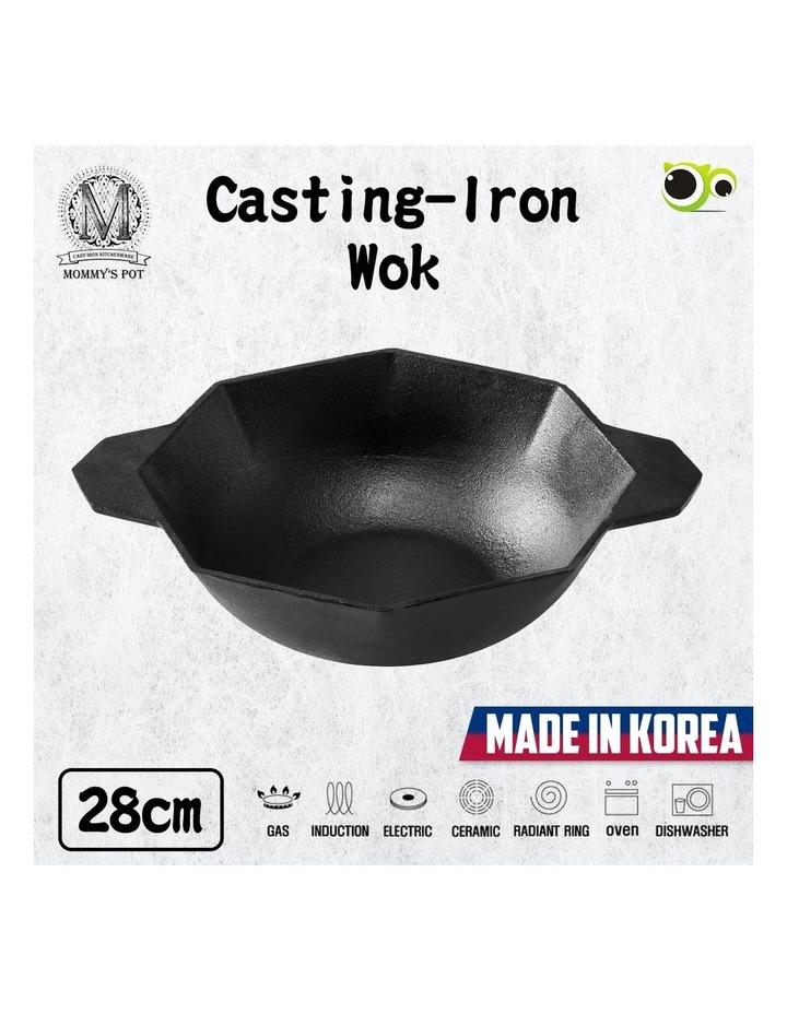 Cast-Iron Traditional Wok 28cm image 2