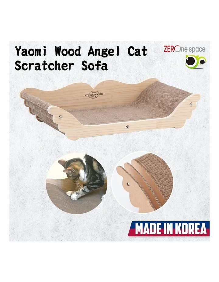 Yaomi Wood Angel Cat Scratcher Sofa image 2