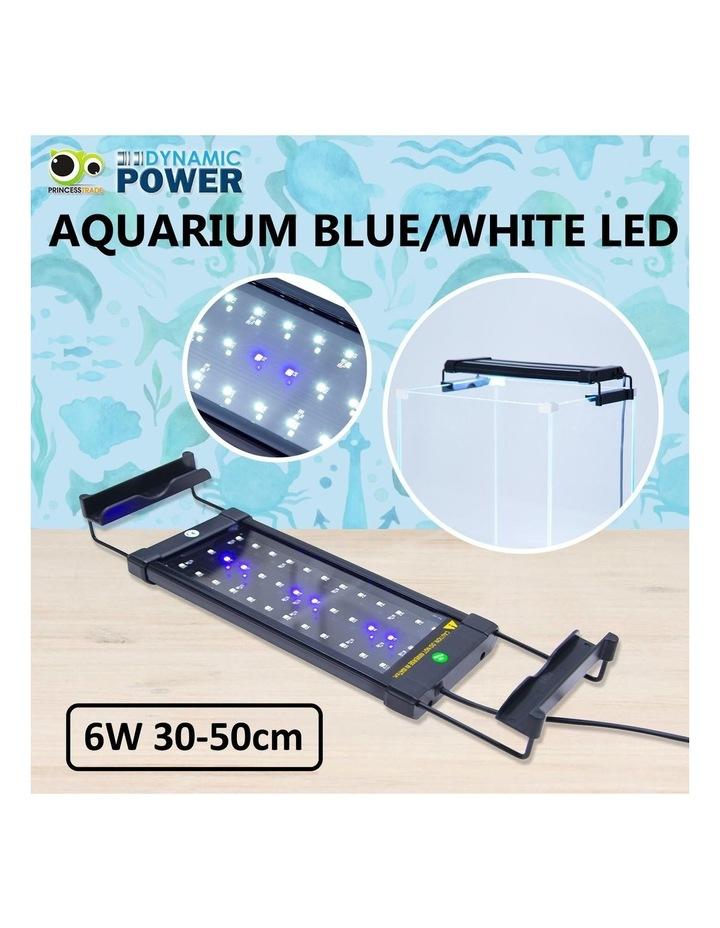 Aquarium Blue White LED - 6W 30-50cm image 2