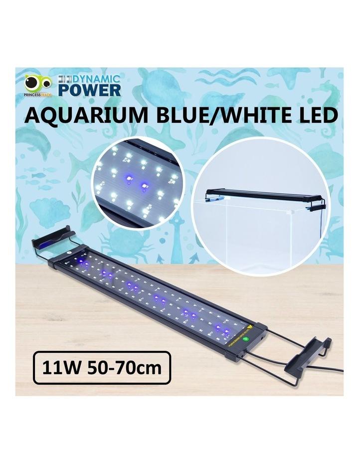 Aquarium Blue White LED - 11W 50-70cm image 2