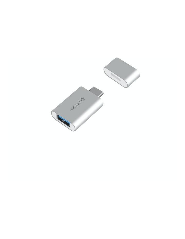 Attache Aluminum Usb 3.1/3.0 To Usb Type C Adaptor image 1