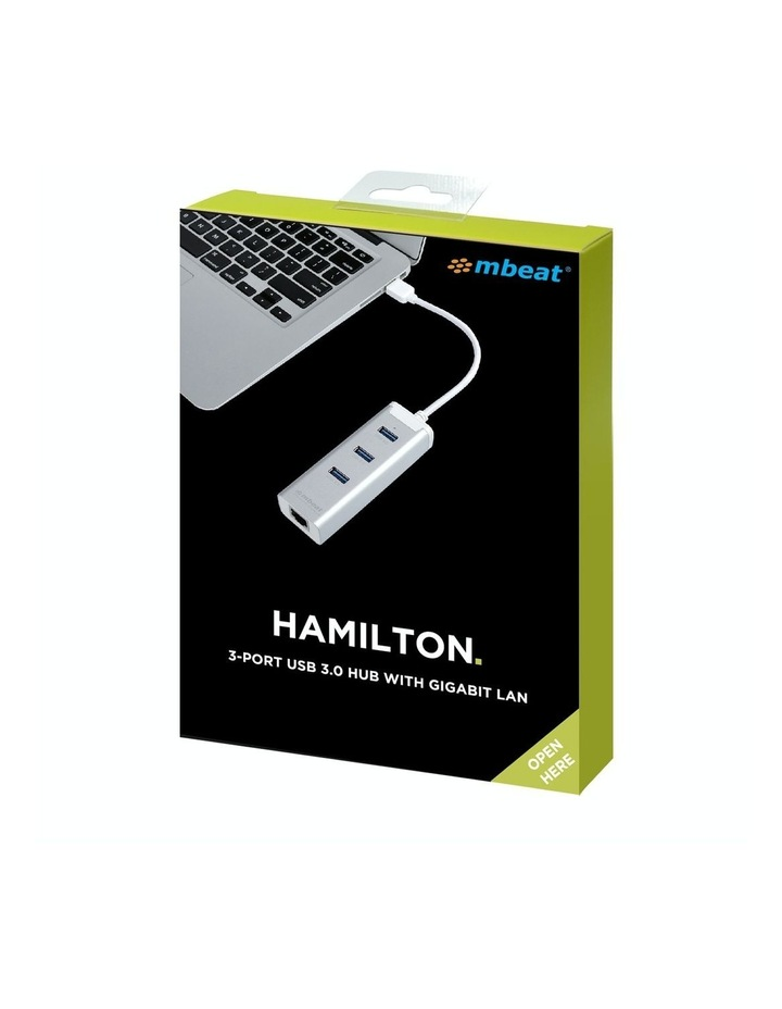 New Mbeat 3-Port Usb 3.0 Hub Adapter With Gigabit 1000/M Rj45 Usb Lan Mac And Pc image 7