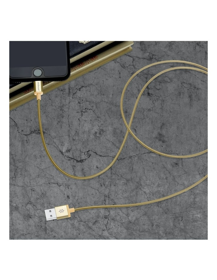 Toughlink Gold 1.2M Metal Braided Mfi Lightning Cable image 6