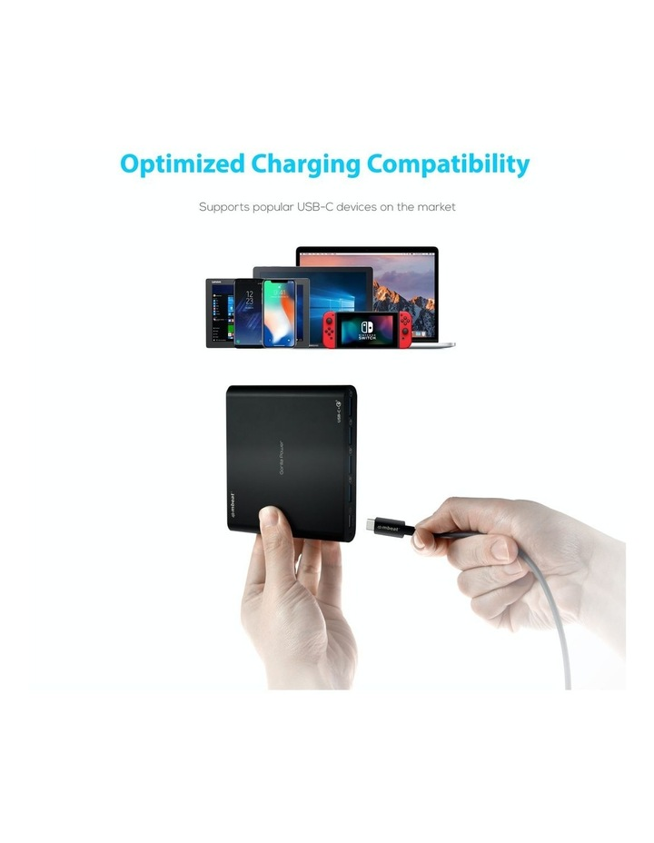 Gorillapower 80W 5-Port Usb-C Power Delivery   Quick Charge 3.0 Charger image 4
