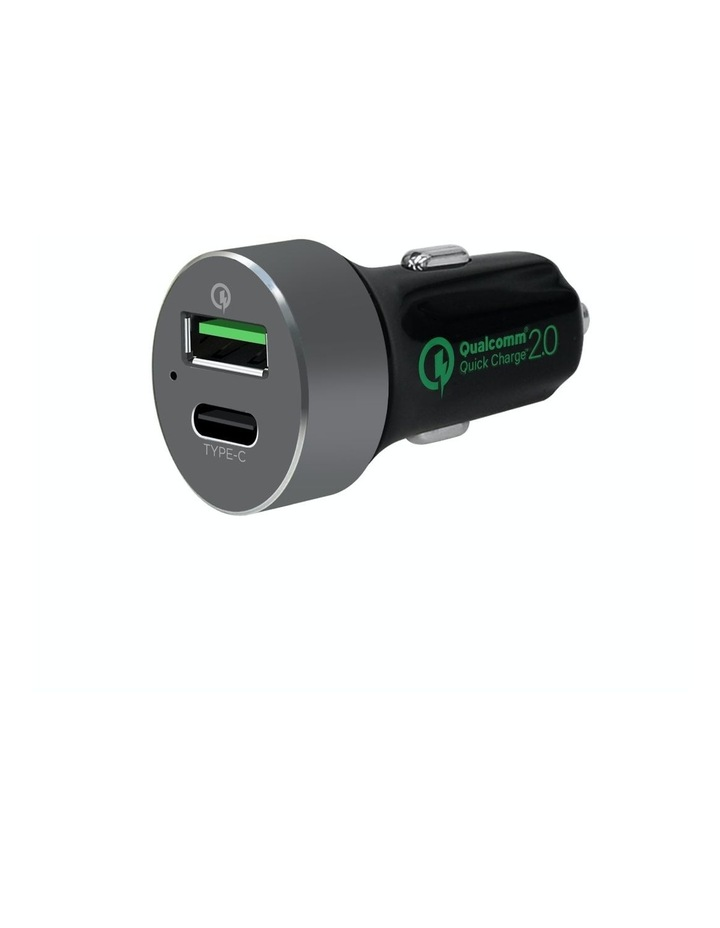 Quickboost C Dual Port Qualcomm Certified Car Charger image 1
