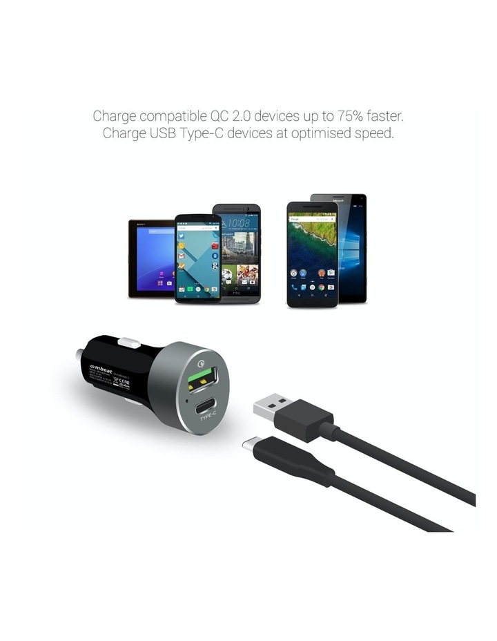 Quickboost C Dual Port Qualcomm Certified Car Charger image 3