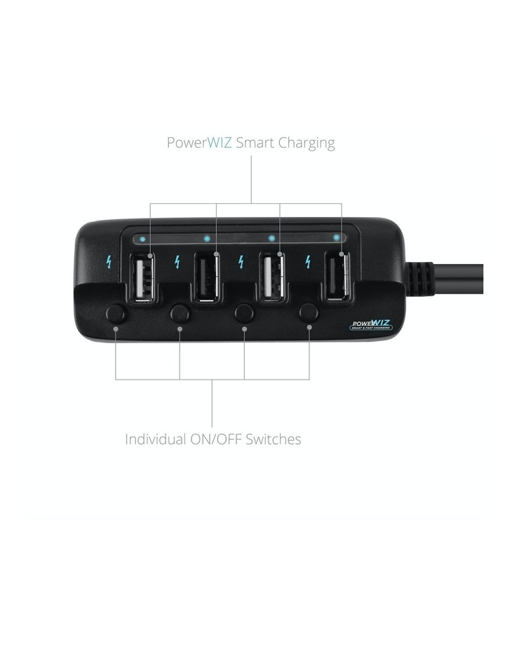 4-Port 40W Rapid Car Charger image 2
