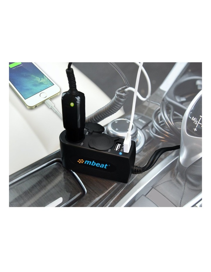 3A/15W Dual Port Usb & Cigaratte Charger For Phone & Tablet image 6