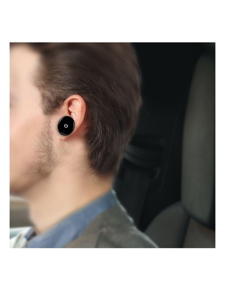 Powertone Mini Bluetooth Earphone With Dual Port Car Charger image 6