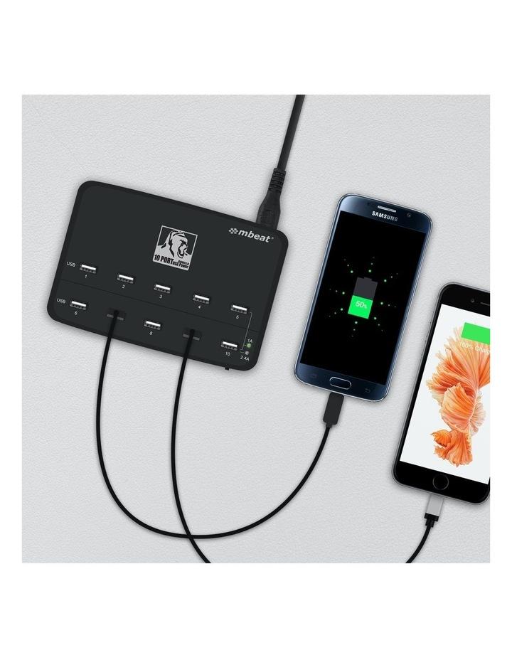 Gorillia Power 60W 10 Port Usb Charging Hub image 6