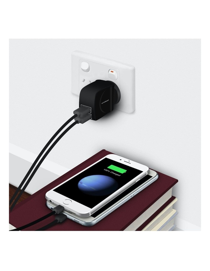 """""""Gorillapower Duo"""" 3.4A Dual Usb Ports Smart Charger image 5"""