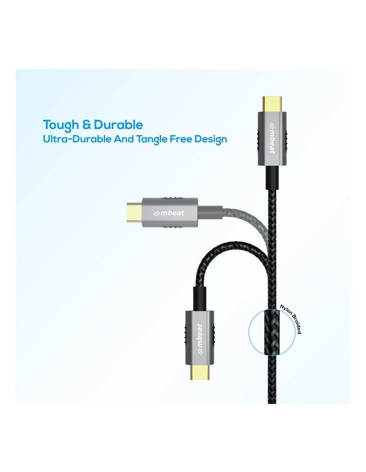 Mbeat Tough Link 1.8M Premium Braided Usb-C To Usb-A Cable(Mb-Xcm-Am18) image 3