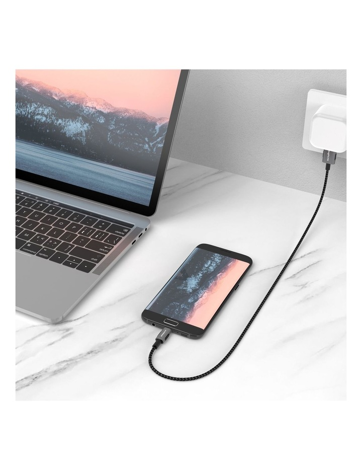 Mbeat Tough Link 1.8M Premium Braided Usb-C To Usb-A Cable(Mb-Xcm-Am18) image 6