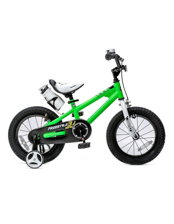 BMX Freestyle Pedal Brake Kids Bike for Boys and Girls 12 14 16 18 inch, Green image 1