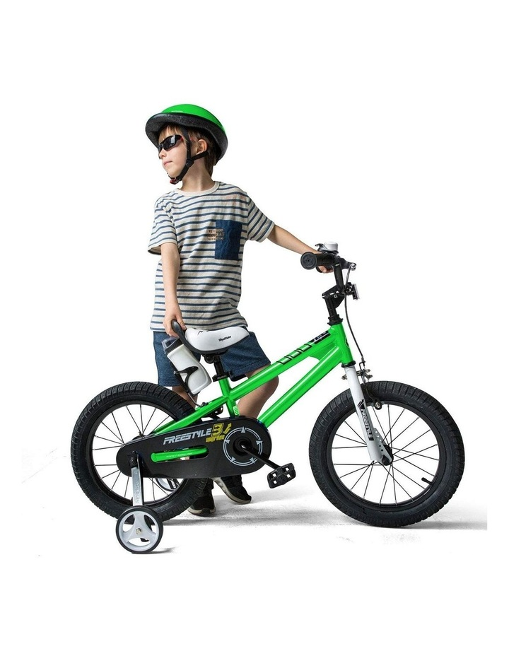 BMX Freestyle Pedal Brake Kids Bike for Boys and Girls 12 14 16 18 inch, Green image 2