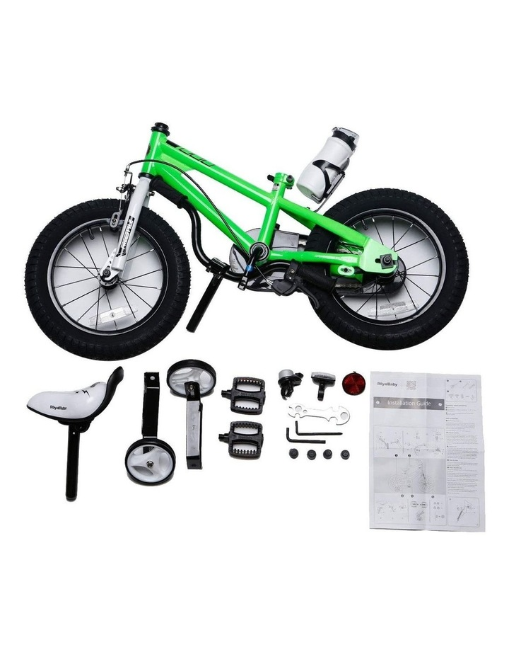 BMX Freestyle Pedal Brake Kids Bike for Boys and Girls 12 14 16 18 inch, Green image 3