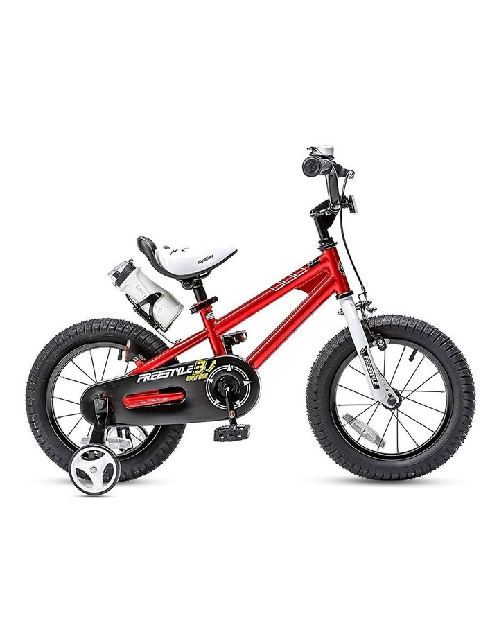 BMX Freestyle Pedal Brake Kids Bike for Boys and Girls 12 14 16 18 inch, Red image 1