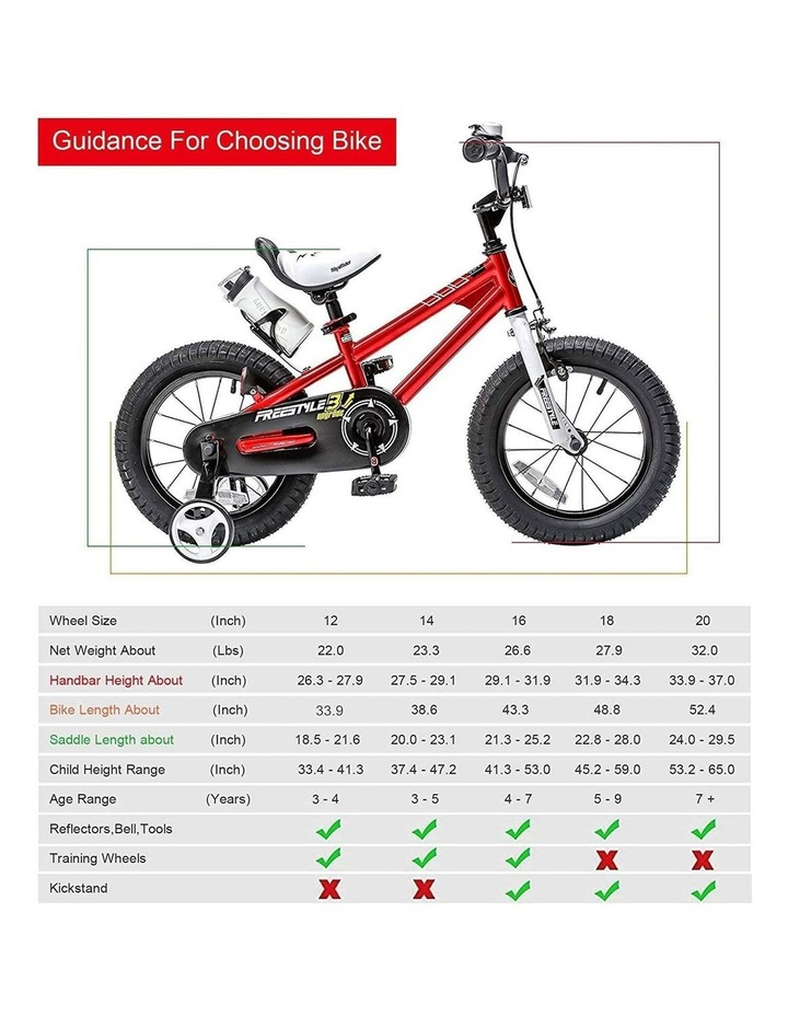 BMX Freestyle Pedal Brake Kids Bike for Boys and Girls 12 14 16 18 inch, Red image 2