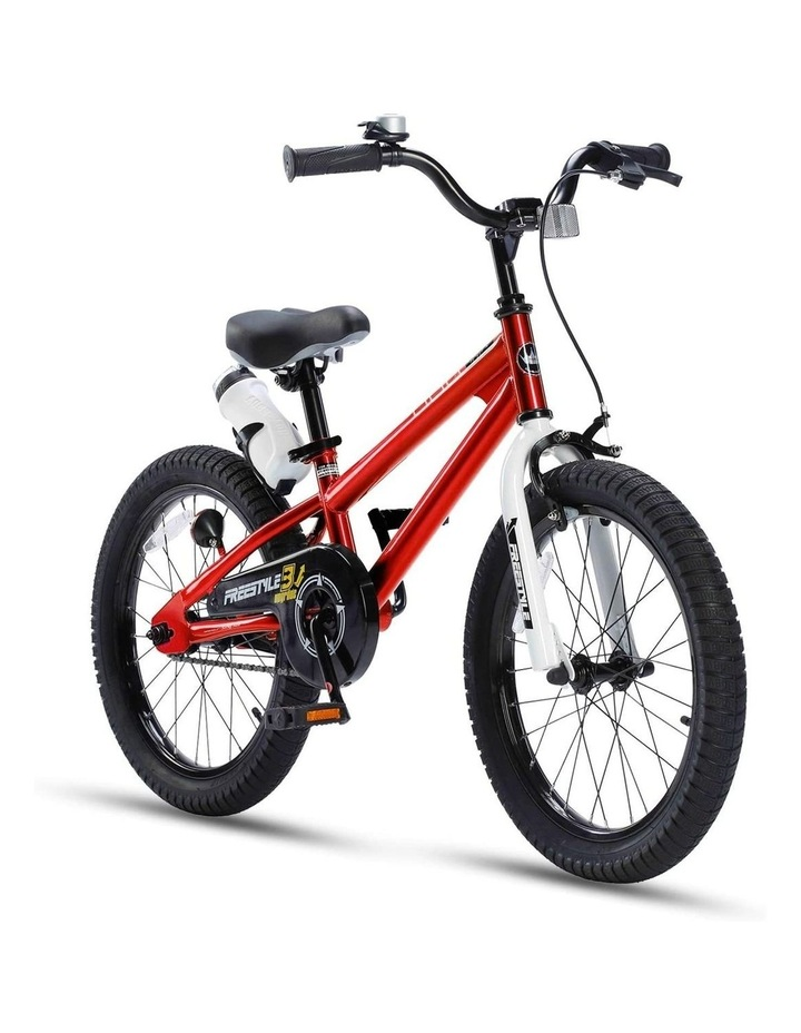 BMX Freestyle Pedal Brake Kids Bike for Boys and Girls 12 14 16 18 inch, Red image 3