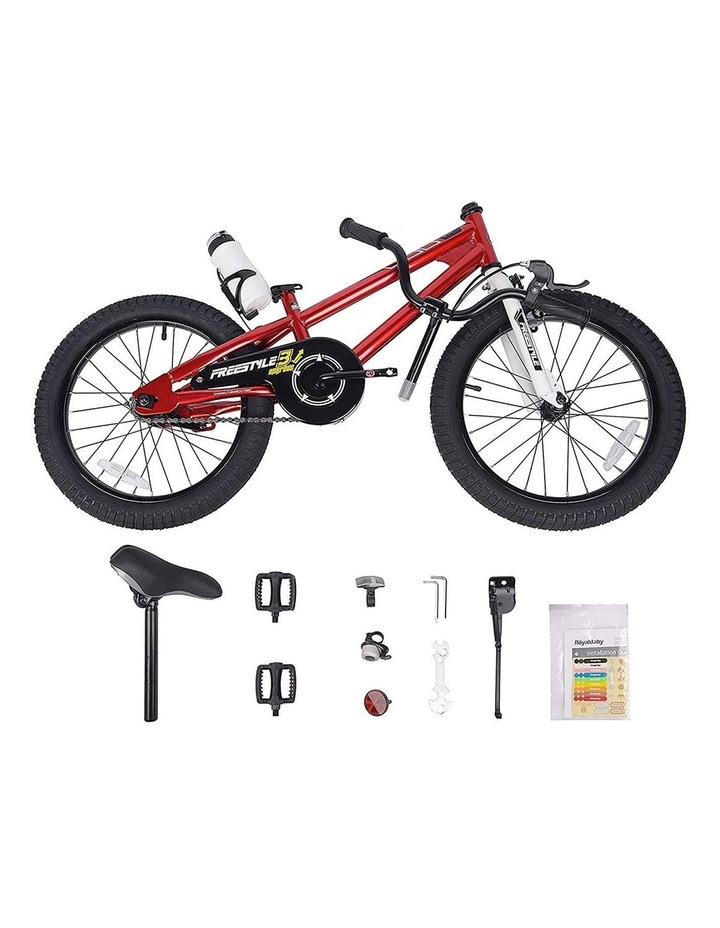 BMX Freestyle Pedal Brake Kids Bike for Boys and Girls 12 14 16 18 inch, Red image 5