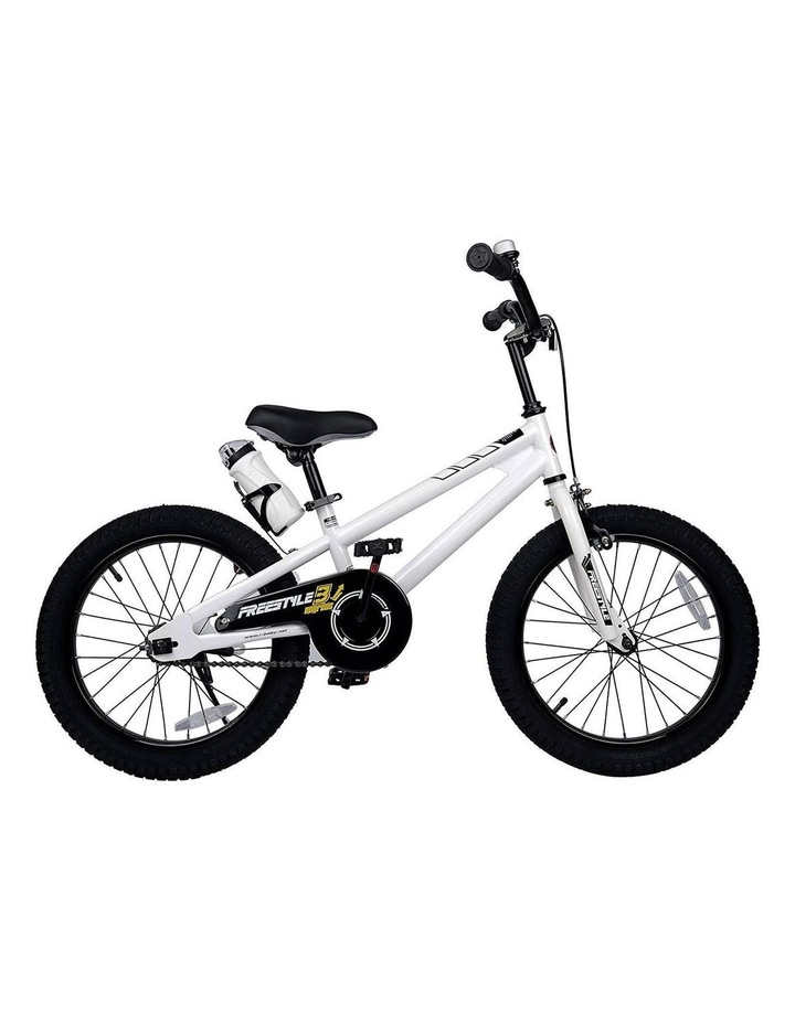 BMX Freestyle Pedal Brake Kids Bike for Boys and Girls 12 14 16 18 inch, White image 1