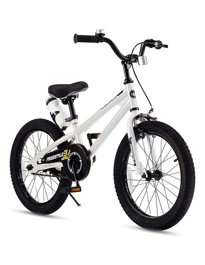 BMX Freestyle Pedal Brake Kids Bike for Boys and Girls 12 14 16 18 inch, White image 2