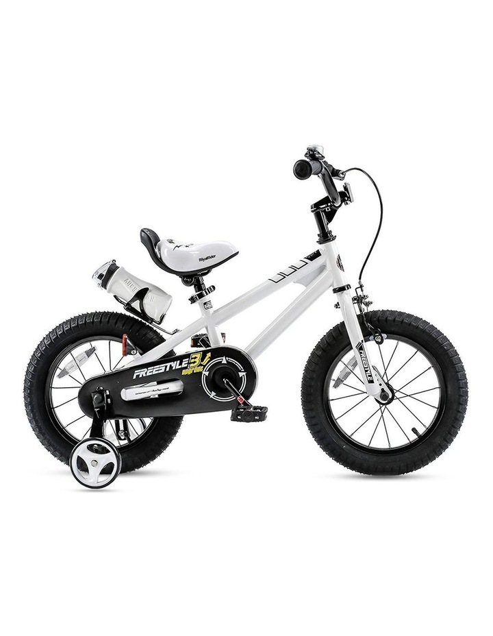 BMX Freestyle Pedal Brake Kids Bike for Boys and Girls 12 14 16 18 inch, White image 3