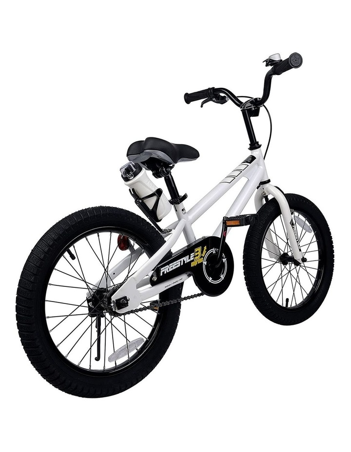 BMX Freestyle Pedal Brake Kids Bike for Boys and Girls 12 14 16 18 inch, White image 4