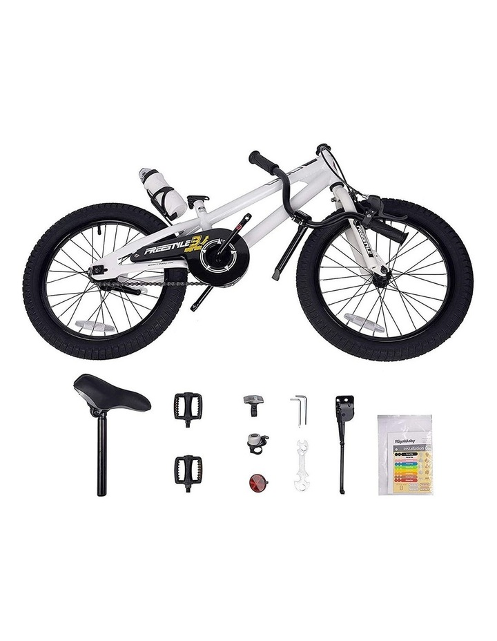 BMX Freestyle Pedal Brake Kids Bike for Boys and Girls 12 14 16 18 inch, White image 5