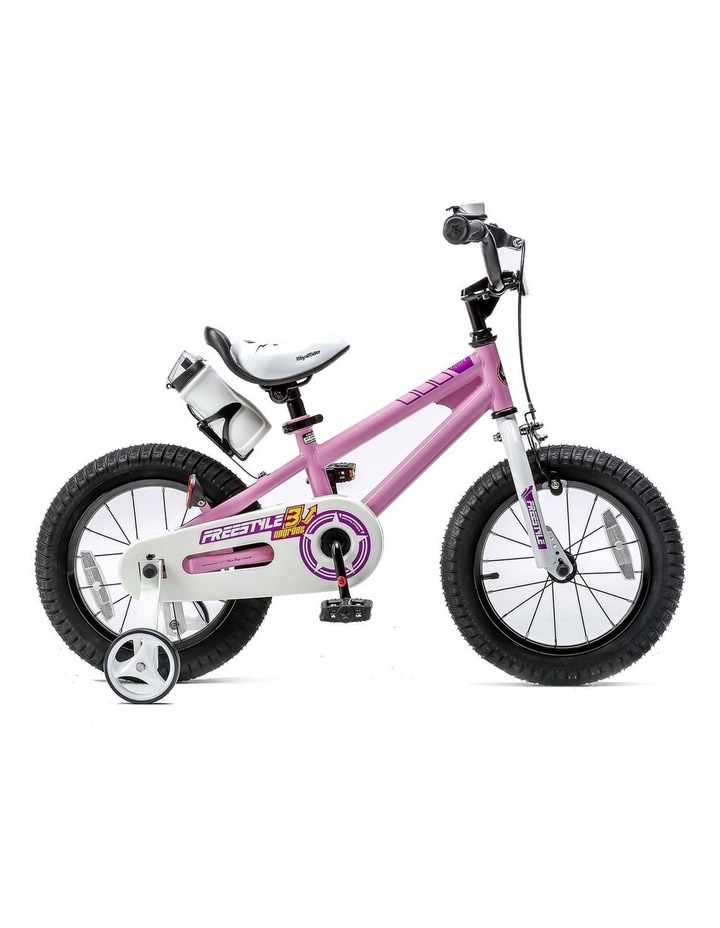 BMX Freestyle Pedal Brake Kids Bike for Boys and Girls 12 14 16 18 inch, Pink image 1