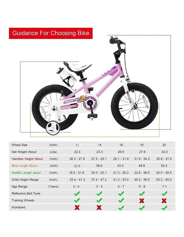 BMX Freestyle Pedal Brake Kids Bike for Boys and Girls 12 14 16 18 inch, Pink image 5