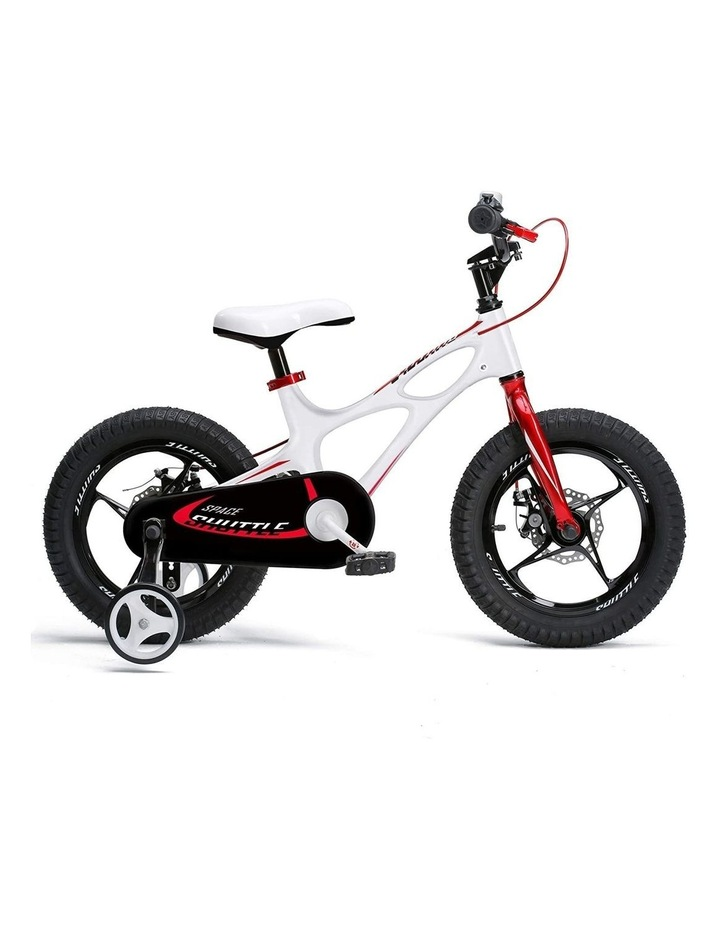 Space Shuttle Magnesium Alloy Kids Bike for Boys and Girls 14 16 18 Inch, White image 1