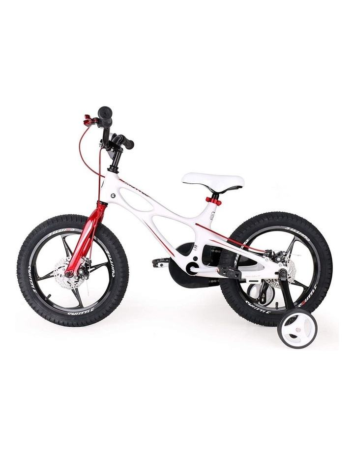 Space Shuttle Magnesium Alloy Kids Bike for Boys and Girls 14 16 18 Inch, White image 5