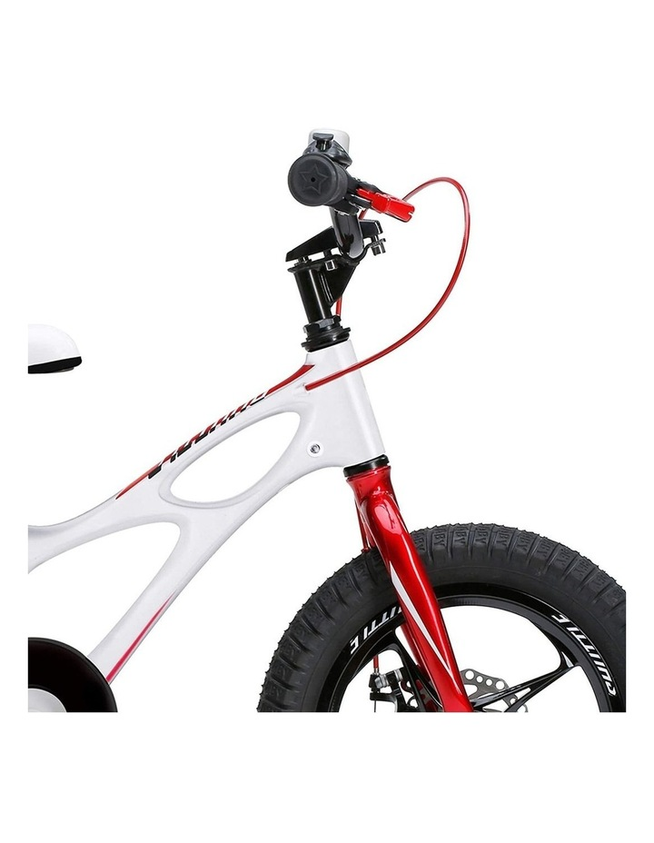 Space Shuttle Magnesium Alloy Kids Bike for Boys and Girls 14 16 18 Inch, White image 6